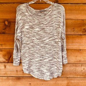 Market & Spruce light patterned sweater